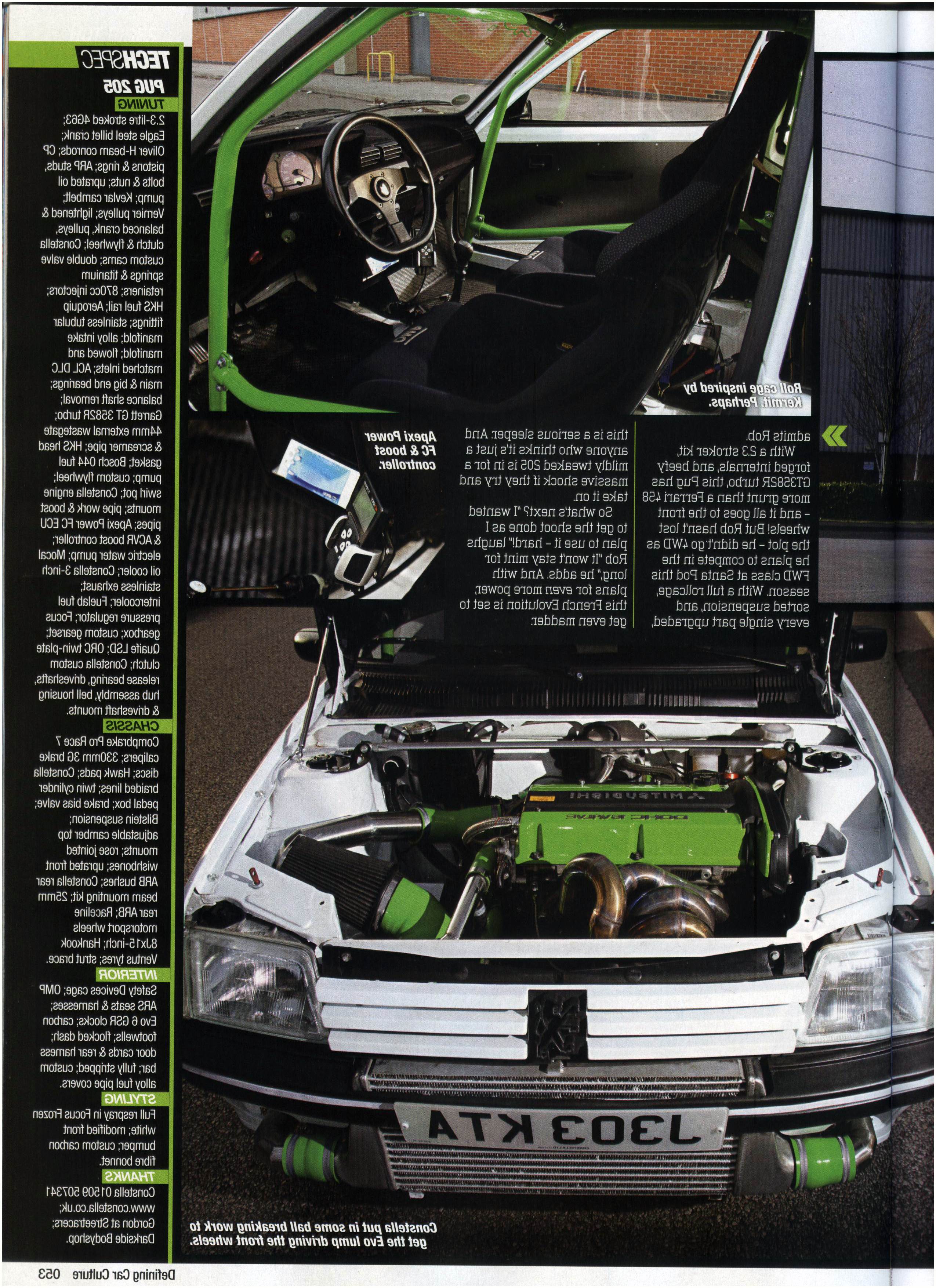 Fast Car Magazine Feature